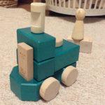 ほっこりするひととき「じょーくんの小さな機関車」