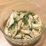 「蒸し鶏ときゅうりのゴマ和え」我が家の定番作り置き&弁当レシピ