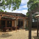 森林に囲まれた自然豊かなカフェ「Honey Garden Cafe」