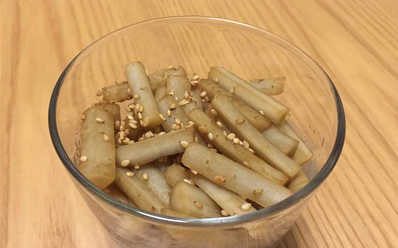 「酢ごぼう」我が家の定番作り置き&弁当レシピ
