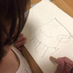 じょーくんのお絵かき「ジェリーフィッシュとハッピーダイナソートレイン」
