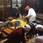 福井 山ふところ工房の味噌づくり2019