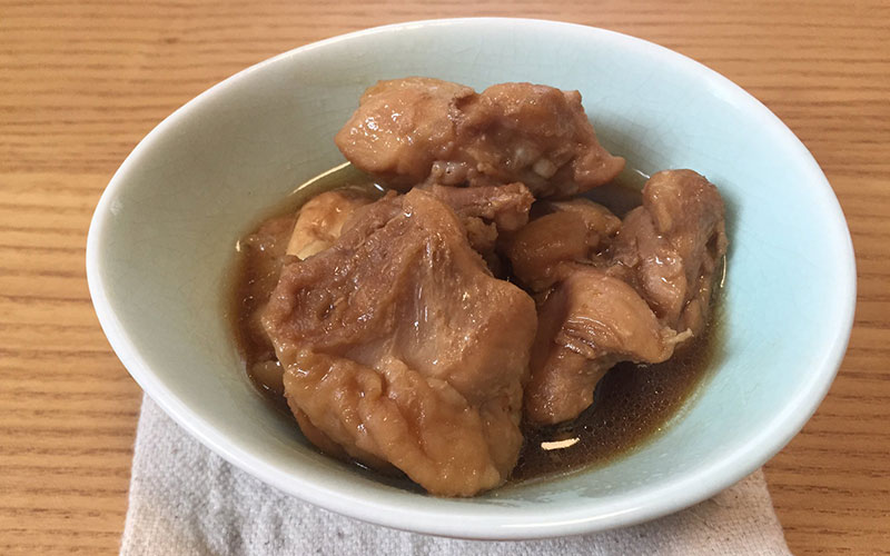 「鶏もものうま煮」我が家の作り置き&弁当レシピ