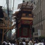 祇園祭「後祭」鉾建て