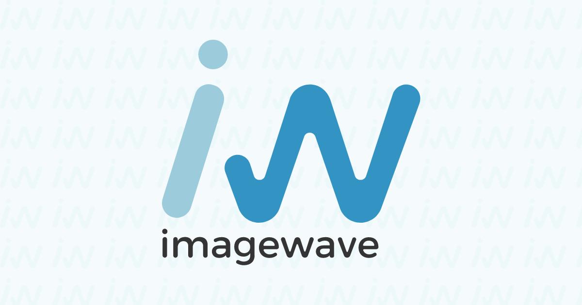 イメージウェーブのロゴを新しくしました