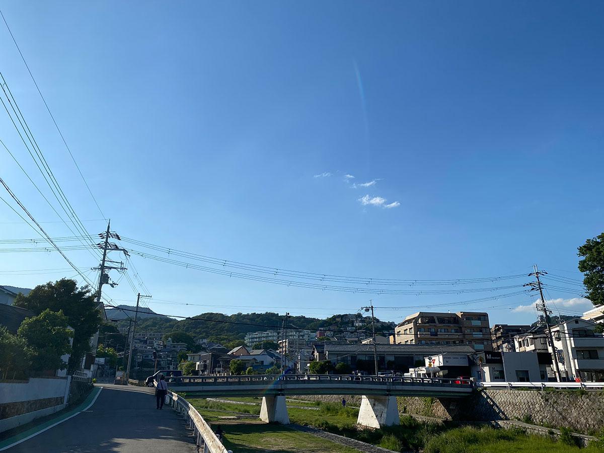 いい天気でした!