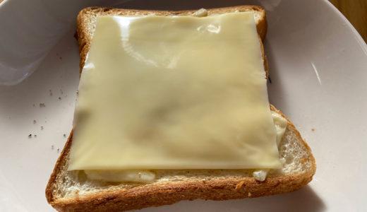 チーズ on チーズ トースト
